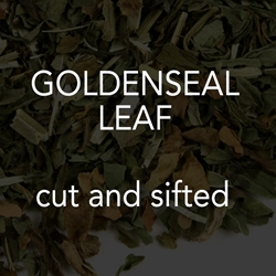 Goldenseal Leaf