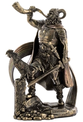 Norse God Heimdall Statue