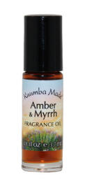 Kuumba Made Amber & Myrrh  Woody, complex, earthy, and strong.