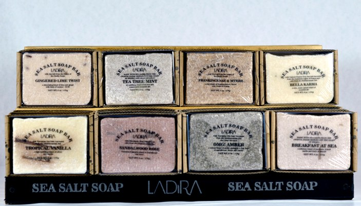 LaDira Sea Salt Soaps