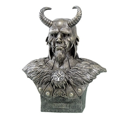 Loki Bust Statue by Artist Monte Moore