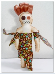 Lost & Found – Brown Voodoo Doll