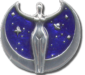 Astra, the Star Goddess Pendant