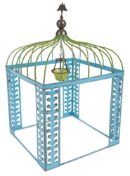 Gypsy Garden Mini Blue Vine Gazebo/Chandelier Item #: GG128
