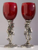 Pirate Pewter Glasses