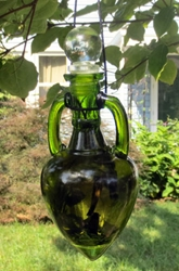 Money and Prosperity Witch Bottle by The Blackest Rose
