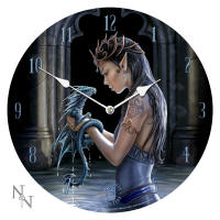Water Dragon Wall Clock  Nemesis Now by Anne Stokes