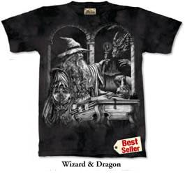 Wizard and Dragon T-shirt