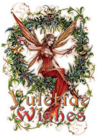 Yuletide Wishes RYB13 - Briar Mid Winter Card