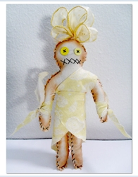 The Pen is Mightier – Yellow Voodoo Doll for Creativity