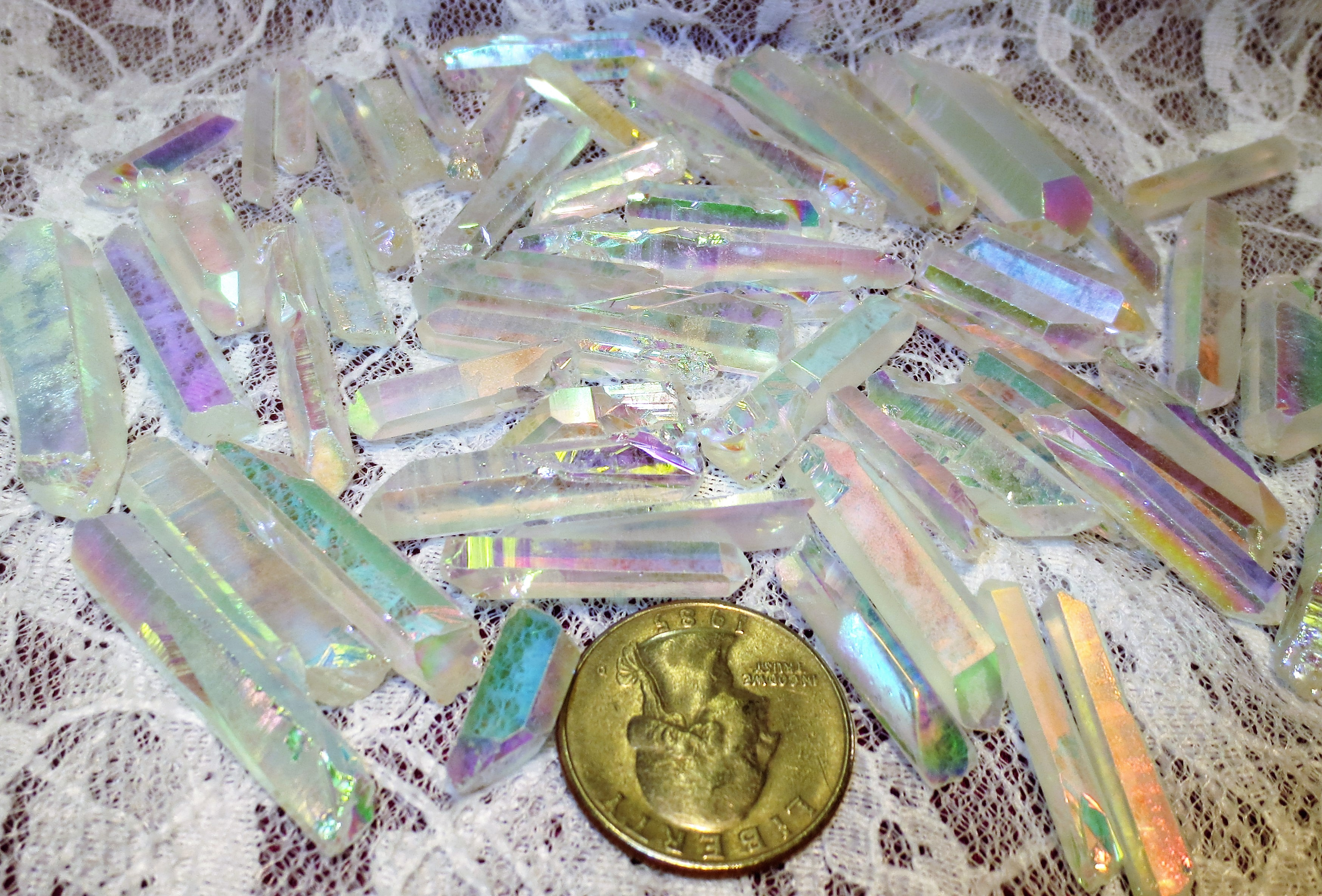 Quartz, Opalite Covered, Rough