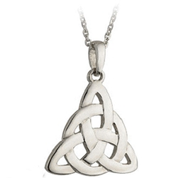 Stainless Steel Trinity Love Knot Pendant