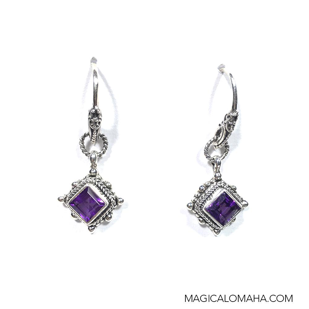 sterling silver amethyst earrings by sarda sarda eari 2