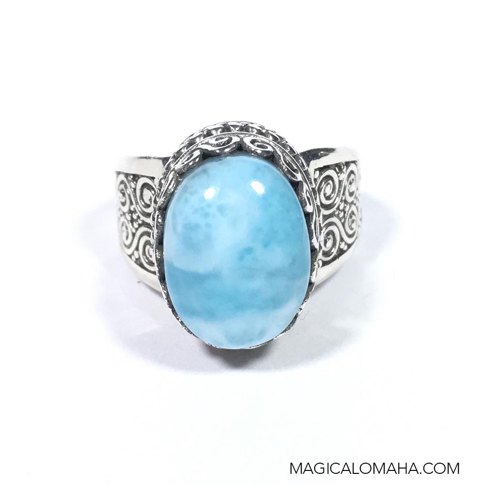 size 8 sterling silver larimar ring by sarda sarda ring10