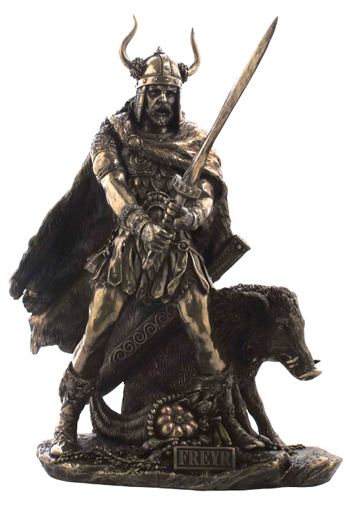 Norse God Freyr Statue Uswu75321a4