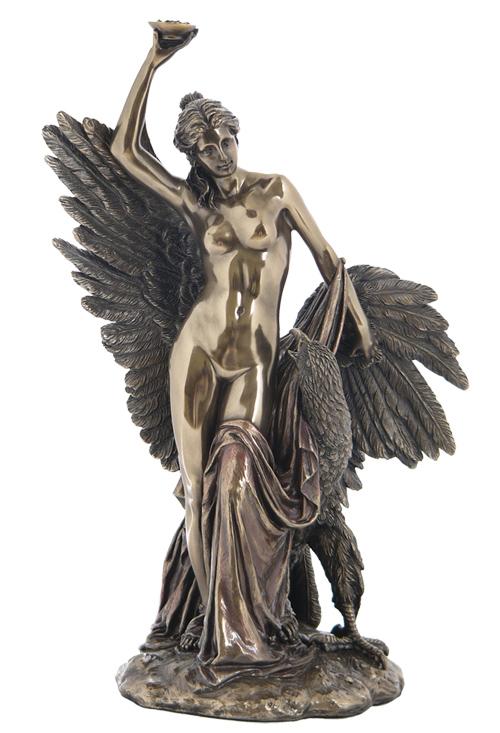 Hebe And The Eagle Of Jupiter Statue Wu75468a4 Wu75468a4