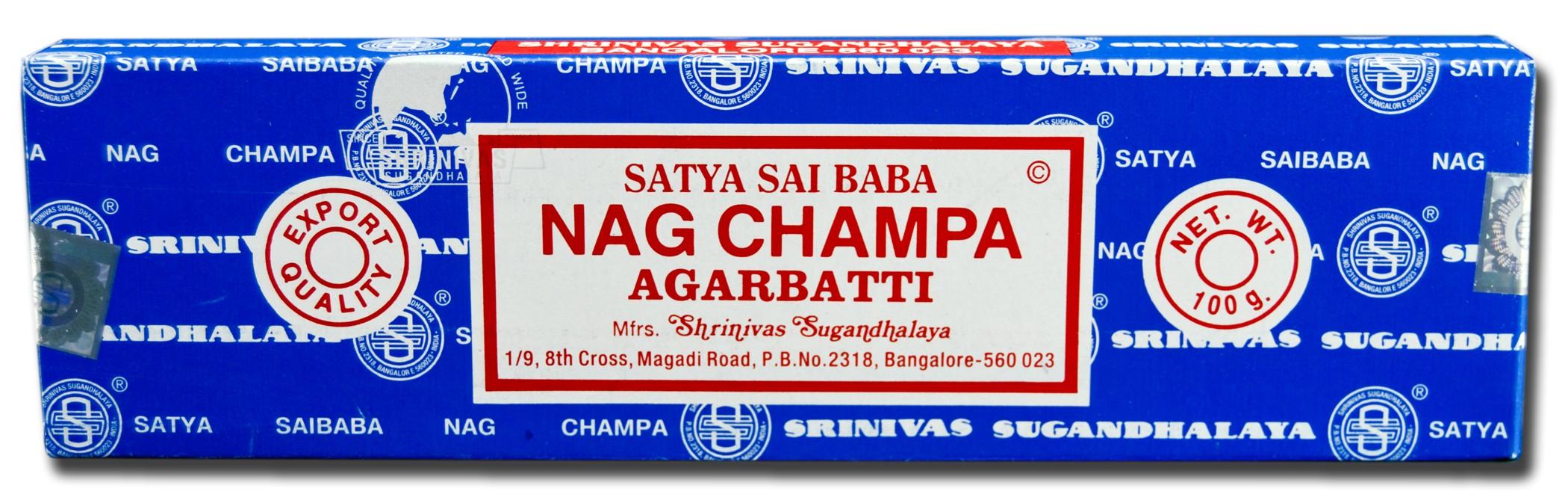 Certified Authentic Sai Baba Nag Champa Incense 250 Grams Approx 250 Sticks Nci 250