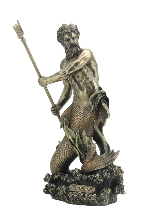 Poseidon Greek God Of The Sea Statue Wu75992a4 Wu75992a4