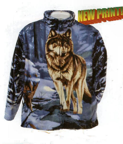 Wolf Fur Coat >> Wolf Fleece Jacket | Designer Jackets