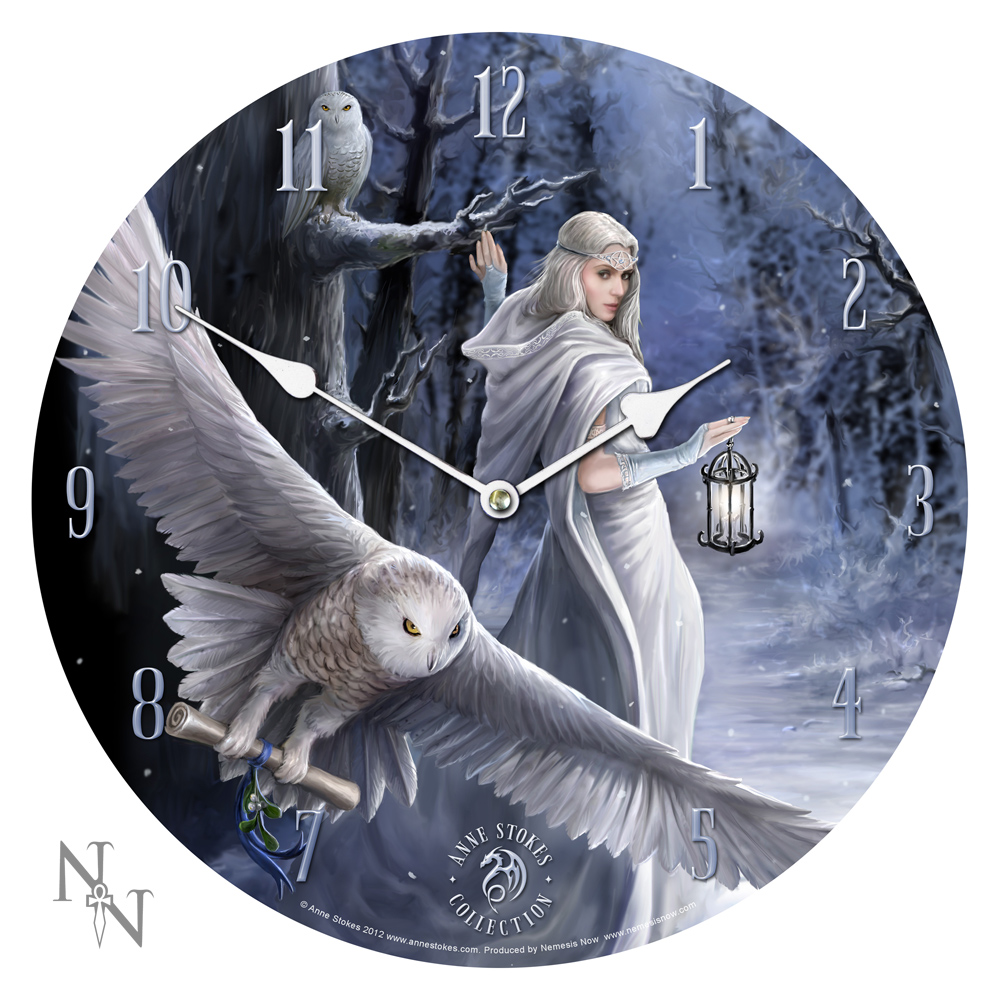 Enchanting Clocks by Anne Stokes