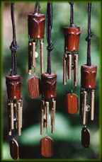 Wind Chime Angel Necklaces