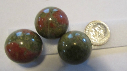 20mm Mini Unakite Stone Sphere
