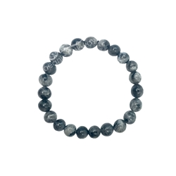 8mm Beaded Crystal Stone Bracelet Larvikite for protection 8mm Wonderful Beaded Crystal Stone Bracelet, 8MM Bracelet , protection bracelet,moonstone bracelet, healing bracelet