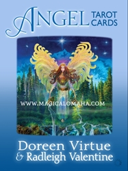 ANGEL TAROT CARDS (78-card deck & guidebook) by Radleigh Valentine