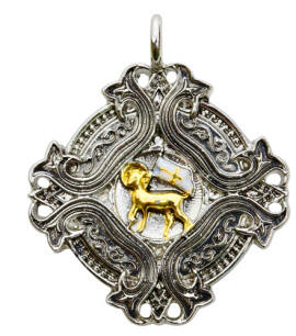 Agnus Dei for Spiritual Knowledge and Wisdom Pendant