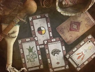 All Paths Native American Inspired Major Arcana by Tarot by Seven Self Published