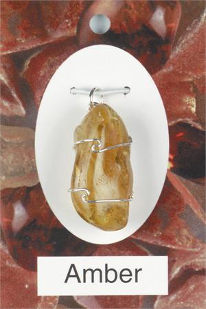 Amber Pendant Self healing and revitalization