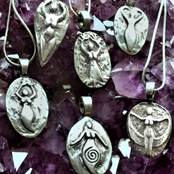 Amulets of Avalon Goddess Pendants by Deva Designs   Amulets of Avalon Goddess Pendants by Deva Designs