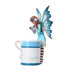 Amy Brown  Hot Cocoa Faery Fairy Figurine