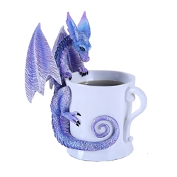 Amy Brown  Whatcha Drinkin Cup Dragon Figurine  Amy Brown  Whatcha Drinkin Cup Dragon Figurine, Amy Brown Dragon