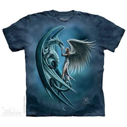 Anne Stokes Angel & Dragon Tee Shirt