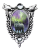 Anne Stokes Aura Wolf Cameo Pendant Anne Stokes Aura Wolf Cameo Pendant