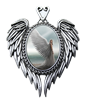 Anne Stokes Spirit Guide Angel Cameo Pendant  Anne Stokes Spirit Guide Angel Cameo Pendant