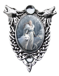 Anne Stokes Winter Guardians Cameo