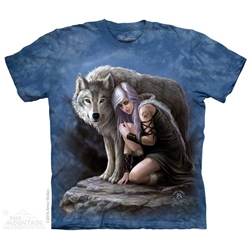 Anne Stokes Wolven Protector Tee Shirt