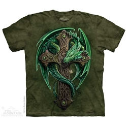 Anne Stokes Woodland Guardian Dragon Tee Shirt
