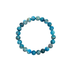 Apatite 8mm Beaded Crystal Stone Bracelet  Apatite 8mm Beaded Crystal Stone Bracelet ed Crystal Stone Bracelet for wealth and prosperity
