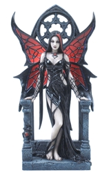 Aracnafaria Spider Figurine by Anne Stokes Aracnafaria Spider Figurine by Anne Stokes
