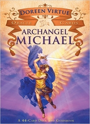 Archangel Michael Oracle Deck & Guide Book by Doreen Virtue