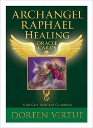 Archangel Raphael Healing Oracle Cards & Guide Book by Doreen Virtue
