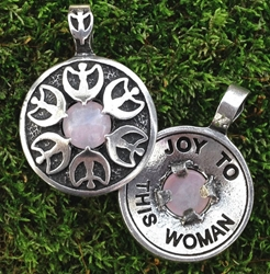 "Avalon Blessings Pendant ""Joy to This Woman"""