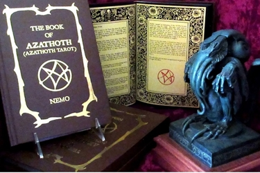 Book of Azathoth Tarot Guide Book By Nemos Locker Self Published Limited  Book of Azathoth Tarot Guide Book By Nemos Locker Self Published Limited