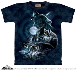 Bark At The Moon Wolf T-Shirt  Bark At The Moon Wolf T-Shirt, wolf moon tee shirt, wolf howling at full moon shirt