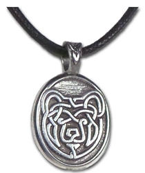 "Bear - ""Strength Compassion Courage Wisdom"" Celtic Strength Pendant Bear - ""Strength Compassion Courage Wisdom"" Celtic Strength Pendant"