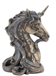 Beautiful Unicorn Head Candle Holder