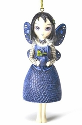 Bella Donnas Gift Fairy Ornament by Jasmine Becket-Griffith